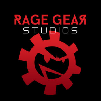 RAGE GEAR STUDIOS - S/S - TANK TOP - BLACK Design