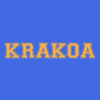 KRAKOA GOLD - S/S - PREMIUM TEE - ROYAL Design