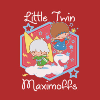 LITTLE TWINS - S/S - PREMIUM TEE - RED Design