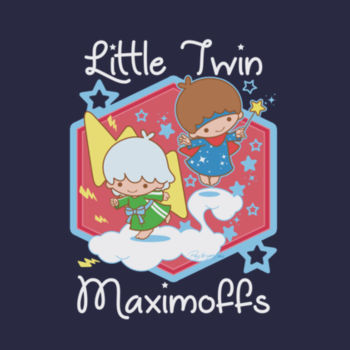 LITTLE TWINS - S/S - PREMIUM TEE - NAVY Design