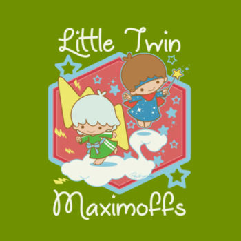 LITTLE TWINS - S/S - PREMIUM TEE - LEAF Design