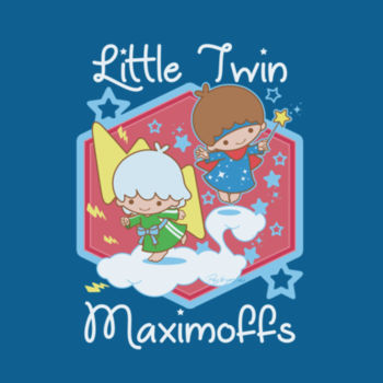 LITTLE TWINS - S/S - PREMIUM TEE - DEEP TEAL Design