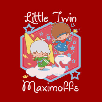 LITTLE TWINS - S/S - PREMIUM TEE - CARDINAL Design