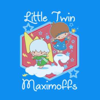 LITTLE TWINS - S/S - PREMIUM TEE - AQUA Design