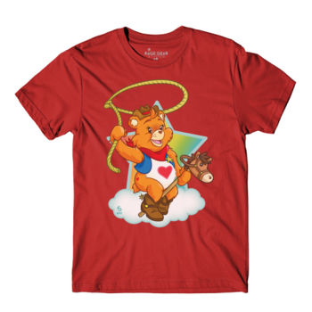 HOWDY BEAR - S/S - PREMIUM TEE - CANVAS RED Thumbnail