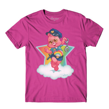 OFFICER CHEER - S/S - PREMIUM TEE - BERRY Thumbnail
