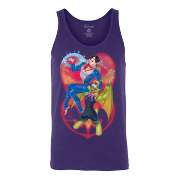 TWO PRINCES - S/S -TANK TOP - PURPLE Thumbnail