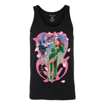 HEART THIEVES - S/S - TANK TOP - BLACK Thumbnail