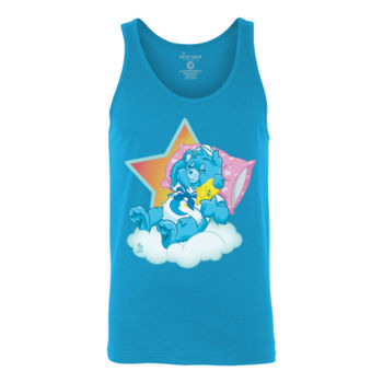 SLEEPY SAILOR - S/S - TANK TOP - NEON BLUE Thumbnail