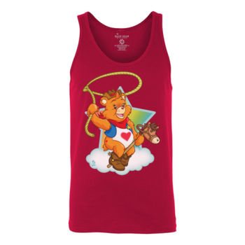 HOWDY BEAR - S/S - TANK TOP - RED Thumbnail