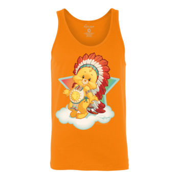 NATIVE BEAR - S/S - TANK TOP - ORANGE Thumbnail